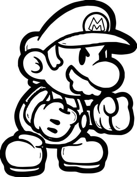 Super Mario Malvorlagen Zum Ausdrucken