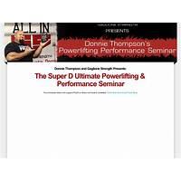 Super d powerlifting seminar bonus