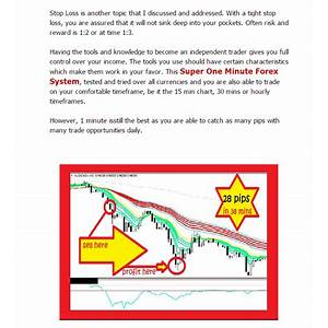 Super one minute forex system guide