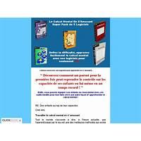 Cheapest super pack de logiciels Éducatifs inédits de calcul mental