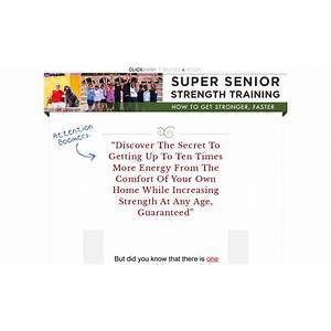 Super senior strength training program technique