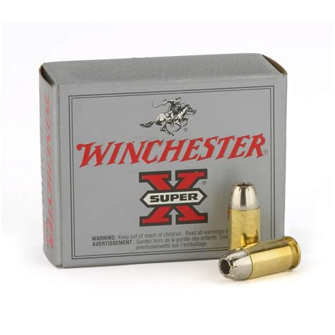 Supersonic 9mm Ammo