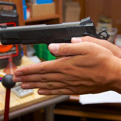 Support Hand Pistol Grip