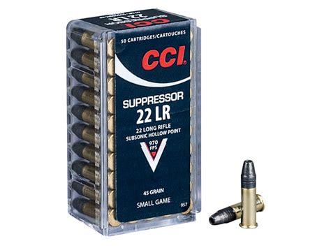 Suppressed 22 Rifle Ammo