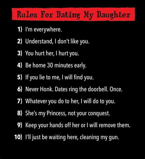 Sure You Can Date My Daughter Clean Gun T-shirt