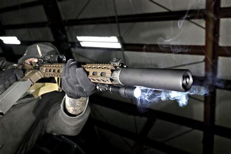 Surefire Socom Rc2 5 56mm Suppressor On Target Magazine