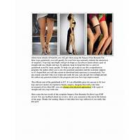 Surgery free remedy for bow legs scam?