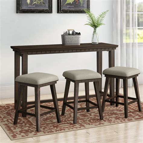 Suzann Multi-purpose 4 Piece Pub Table Set