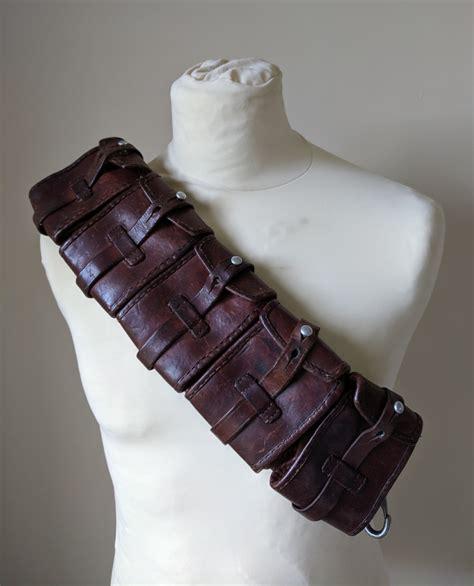 Swedish Mauser Rifle Leather Ammo Belt
