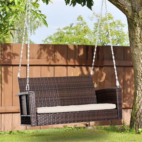 Swing bench for backyard Image
