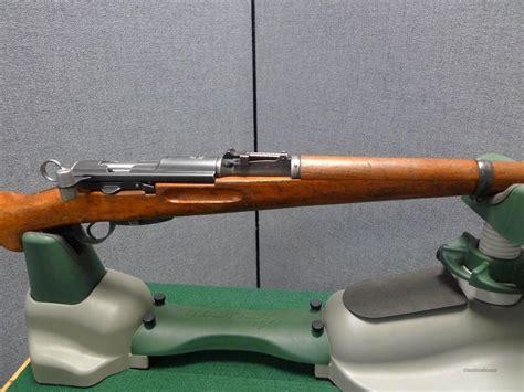Swiss Bolt Action Rifle Ww2