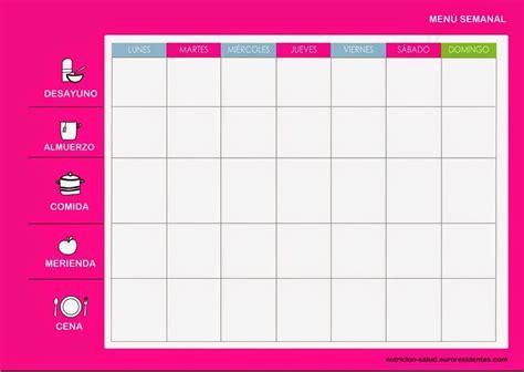 Tabla Dieta Para Adelgazar