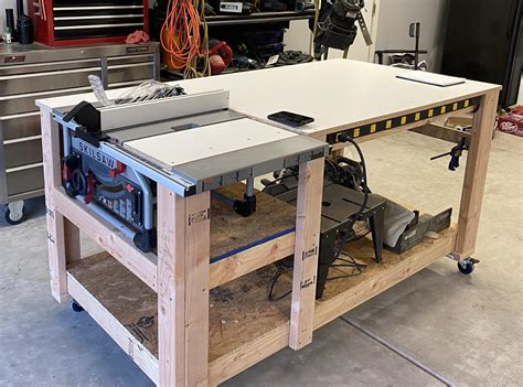 table saw workbench plans free.aspx Image
