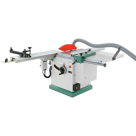 Table saw with scoring blade Image