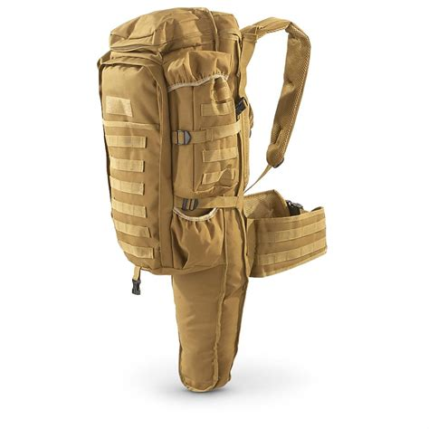 Tactical Assault Bag With Rifle Holder