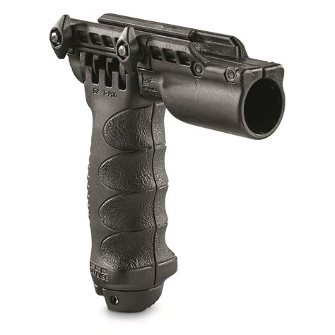 Tactical Foregrip Bipod With Flashlight