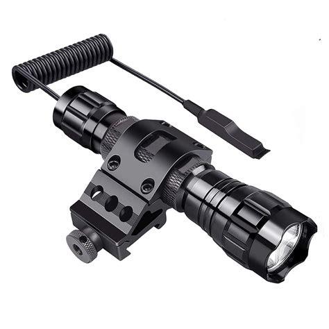 Tactical Gun Flashlight Picatinny 1 Rail M P22
