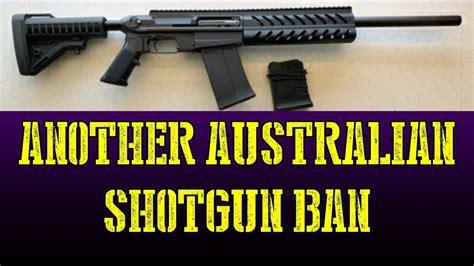 Tactical Shotgun Ban