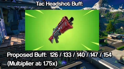 Tactical Shotgun Headshot Multiplier