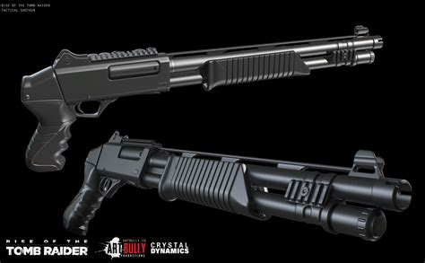 Tactical Shotgun Or Rifle Tomb Raider