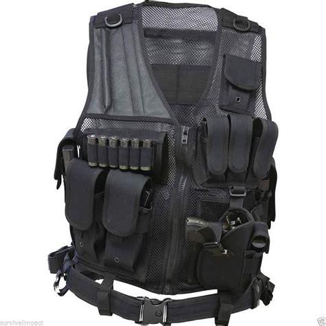 Tactical Vest Shotgun Holster