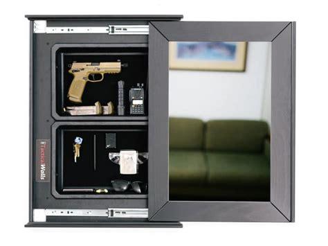 Tactical Walls 1420 Sliding Concealment Mirror 1420 Sliding Concealment Mirror Dutch Walnut