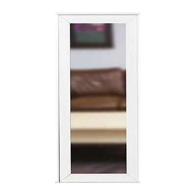 Tactical Walls 1440 Hinged Midlength Concealment Mirror 1440 Hinged Midlength Mirror Wsafe White