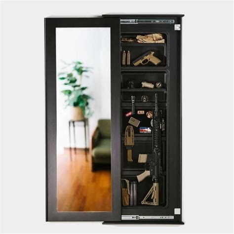 Tactical Walls 1450 Full Length Concealment Mirror Full Length Mirror Early American