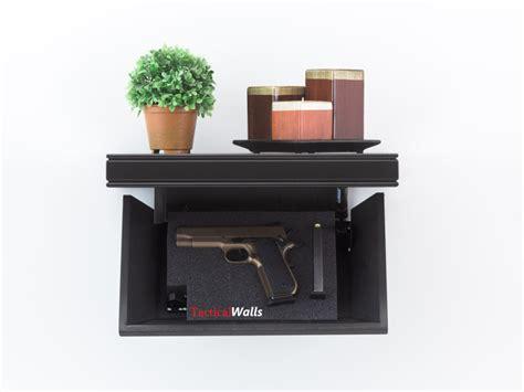 Tactical Walls 812 Single Pistol Shelf 812 Single Pistol Shelf Early Americanblack