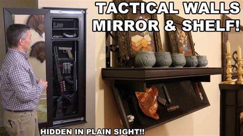 Tactical Walls Mirror Shelf Hidden In Plain Sight