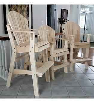 Tall Deck Chair Plans