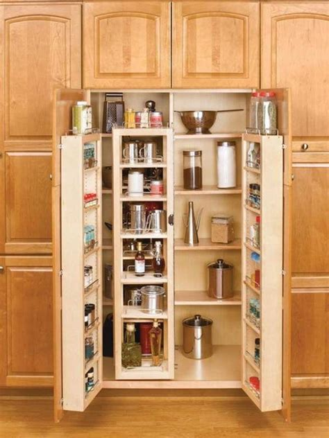 Tall kitchen cabinet plans Image