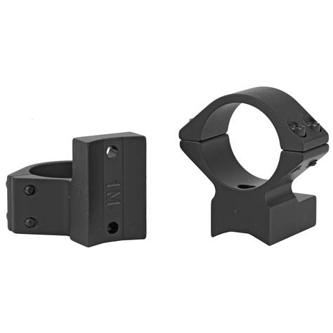Talley Light Weight Scope Mount Savage Accutrigger Round Back 1 Low Scope Mount