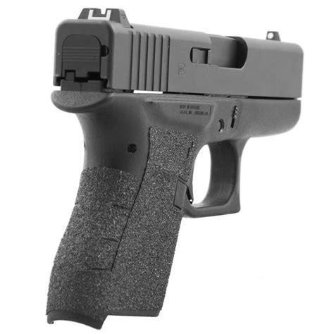 Talon Grips Inc Grip Tape For Glock 43 Grip Granulated Black For Glock 43
