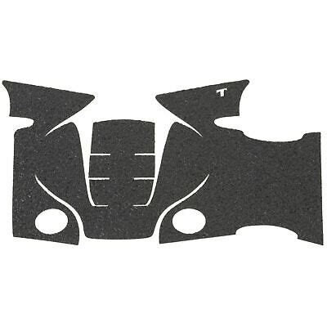Talon Grips Inc Sw Mp Full Size Small Backstrap Grip Tape Sw Mp Full Size Small Backstrap Grip Rubber Black