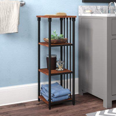 "Tammy 12"" W x 35"" H Bathroom Shelf"