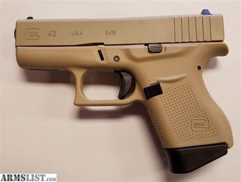 Tan Glock 43 For Sale