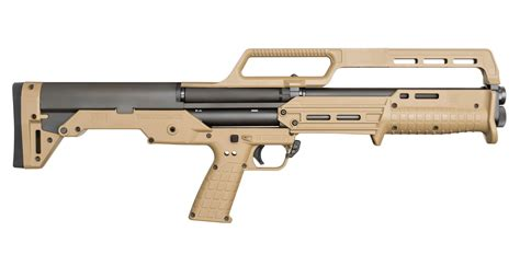 Tan Tactical Pump Shotgun