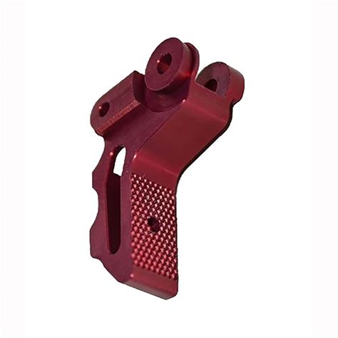 Tandemkross Victory Trigger Shoes For Ruger 1022 Victory Trigger Shoe For Ruger 1022 Red