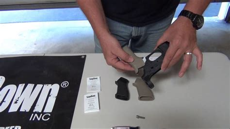 TangoDown Rifle Grip Installation