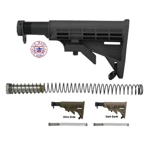 Tapco Weapons Accessories Ar15 M16 T6 Collapsible Stock