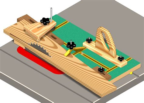 Taper jig for table saw plans Image