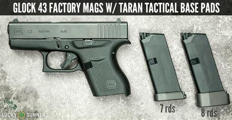 Taran Tactical 2 Glock 43 Vs Shield 8 Round Mag