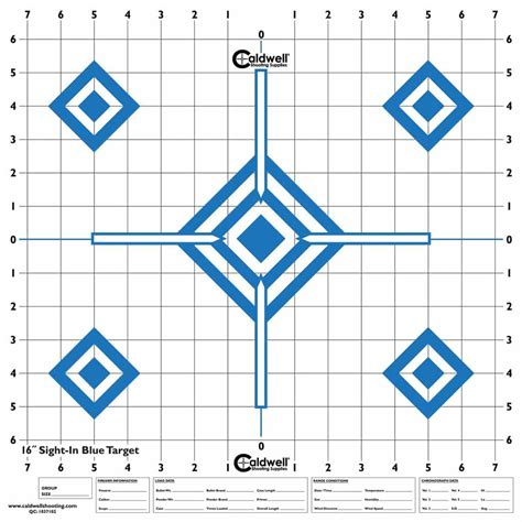 Target Blue Shooting Contrast Hi Sight 9 Supplies Caldwell Diamond Contast 10pk In