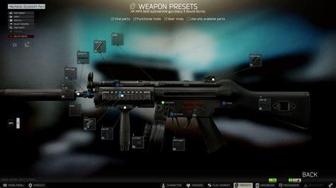 Tarkov Gunsmith Mp5