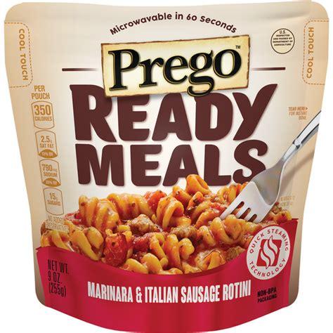Taste Test Ready Meals Marinara Italian Sausage Rotini And Cheesy Chicken Quesadilla