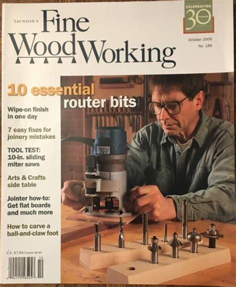 Taunton press fine woodworking Image