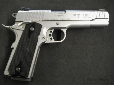 Taurus 1911 9mm Stainless For Sale