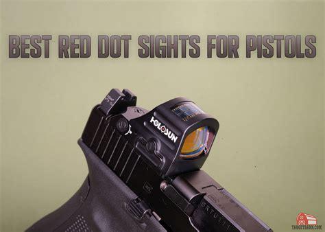 Taurus 45 Pistol Red Dot Sight