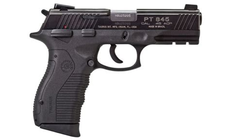 Taurus Model 845 Ss 45acp 12 1 Budsgunshop Com